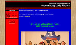 Greensburg Lady Pirates Volleyball
