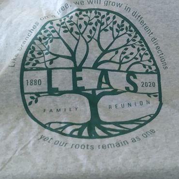 140th Leas Family Reunion T-shirt
